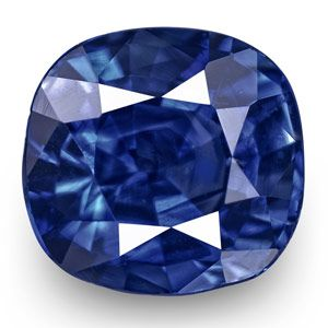 1.11-Carat Eye-Clean Vivid Royal Blue Kashmir-Origin Sapphire