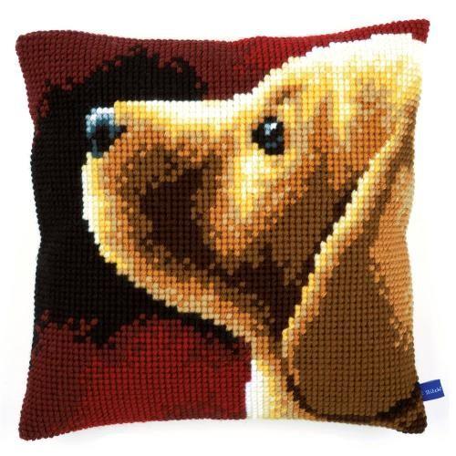 Labrador Chunky Cross Stitch - Vervaco