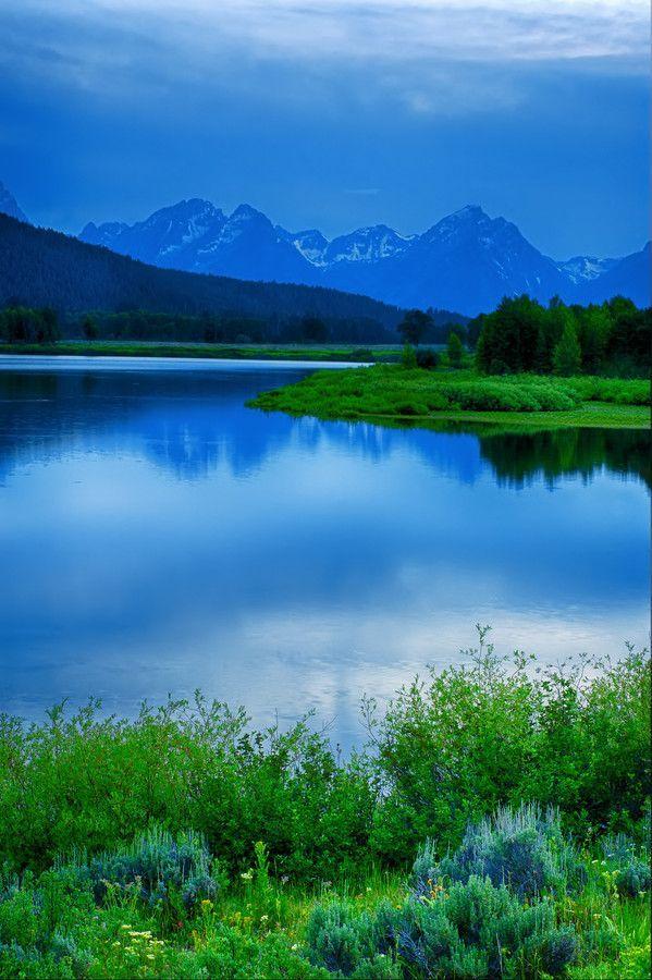 Jackson Lake, Grand Teton National Park, USA