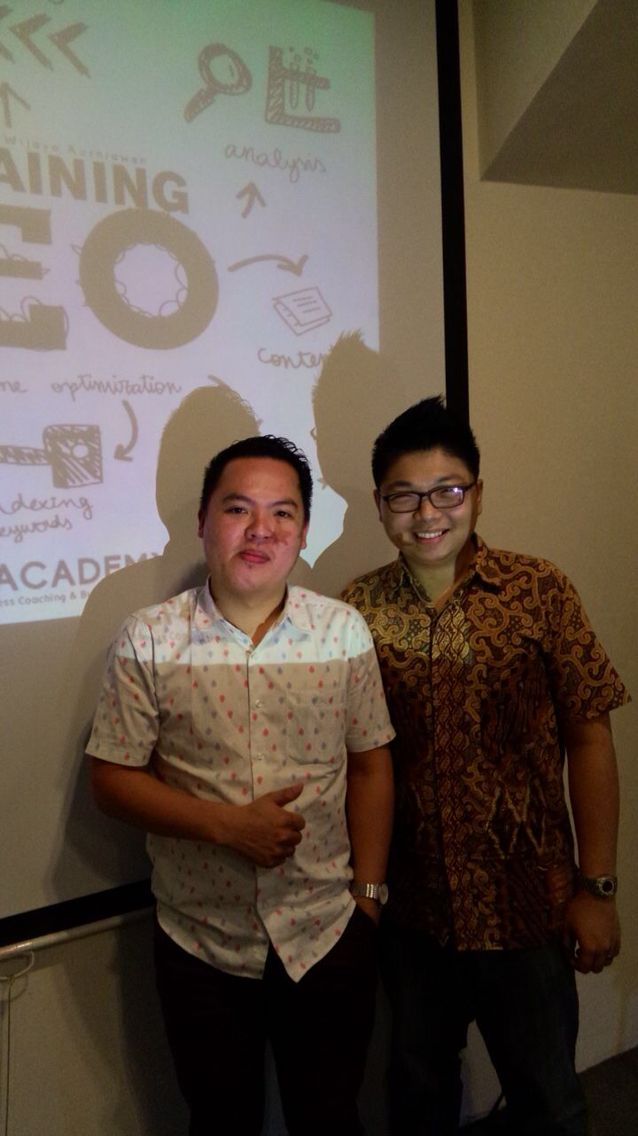 Me and Mr.Andhika Wijaya Kususma [Pakar Digital Marketing and Business Coach]