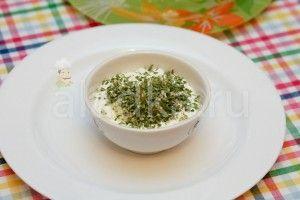 Сметанно-чесночный соус для картофеля