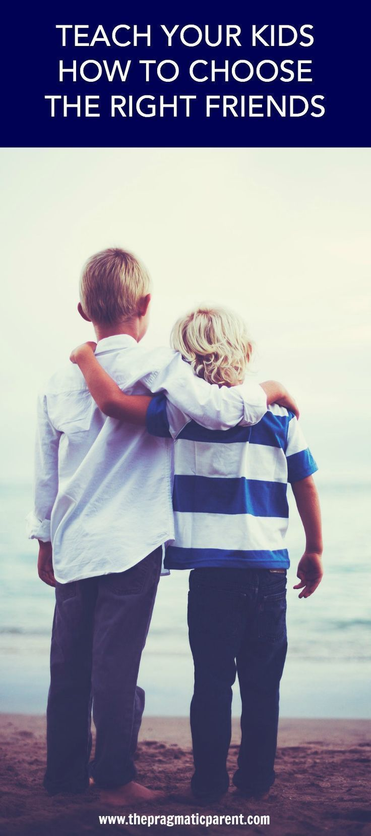 6 Encouraging ways parents can teach their children how to choose the right friends & have meaningful friendships. Having positive relationships bring joy and lasting memories for children. Demonstrate the supportive qualities in your own relationships so