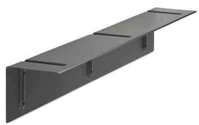 Shelf Brackets Included WH / L 120 cm Dark grey | Shelf Hay - Design furniture and decoration with Made in Design