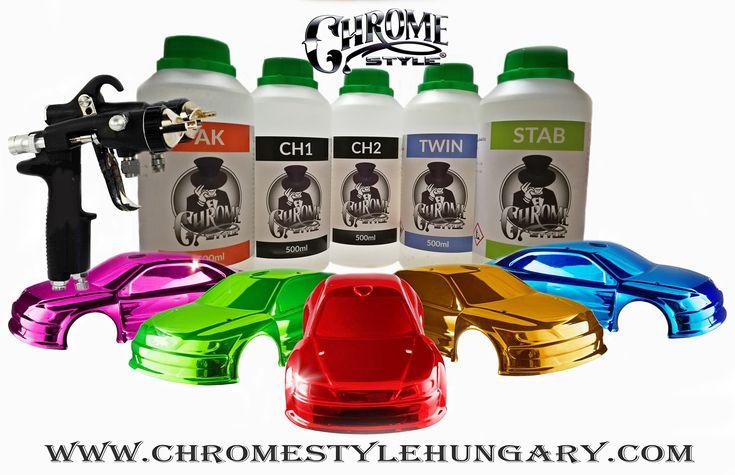 A Chrome technológián alapuló CHROME STYLE vegyi anyagok (100 % króm, hatás) és a Compromise oldószeres termék ( 90 % króm hatás) egy félelmetes alternatívája a hagyományos krómozásnak.