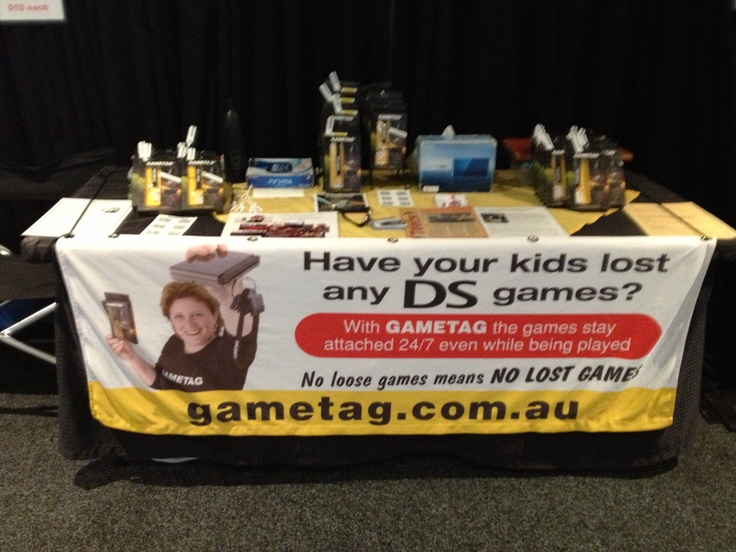 Gametag at the Newcastle Show 1st - 3rd March 2013. No loose and lost DS games check out our youtube to see how it works http://www.youtube.com/watch?v=Wcy5hUlZuc4 Gametag DS game case and holder.