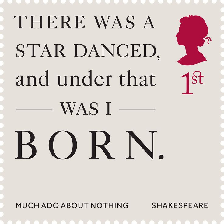 Much Ado About Nothing #SpecialStamp From 2016