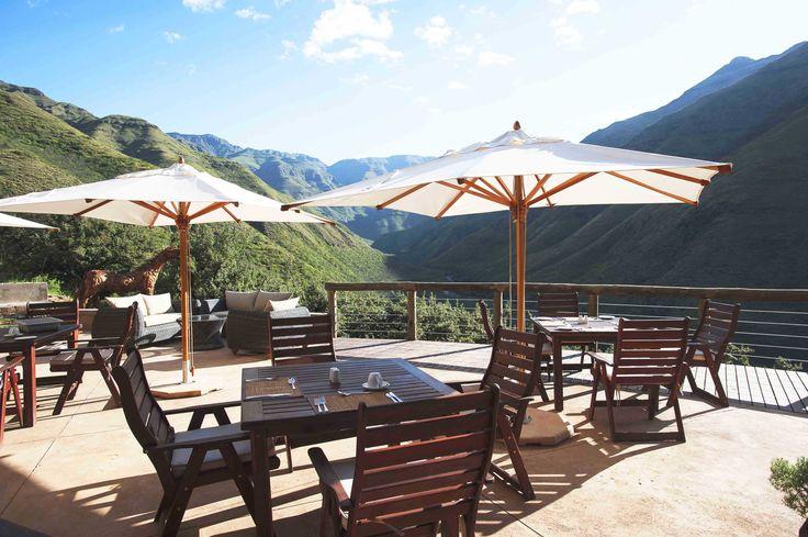 Maliba Lodge Deck #Lesotho #MalibaLodge