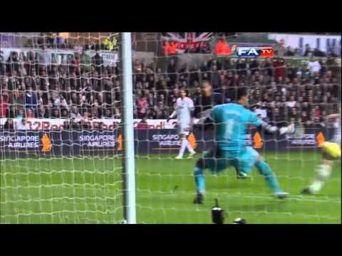 Swansea 2-2 Arsenal - Gibbs stunning volley & full highlights - FA Cup 3rd Round | FATV - YouTube