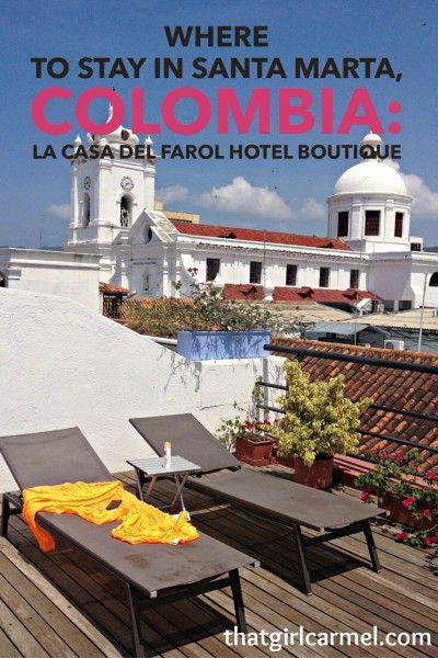 A charming boutique stay in the historic center of Santa Marta, Colombia at La Casa del Farol Hotel Boutique