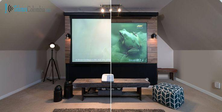 Pantalla de video beam vs televisor