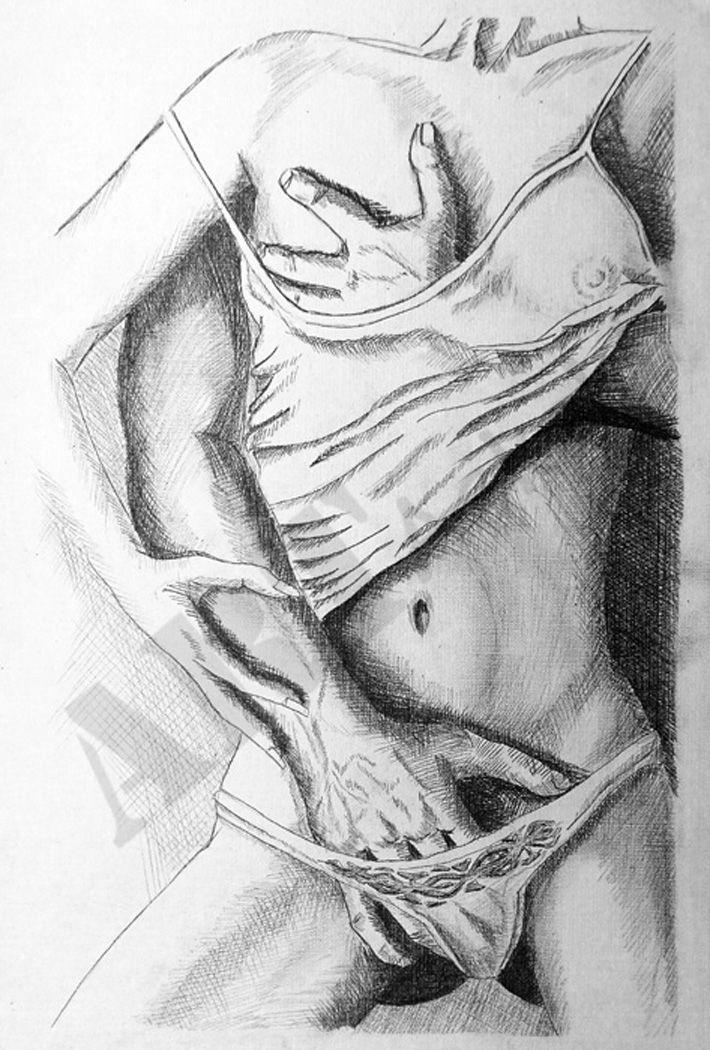 карандаш рисунки эротика