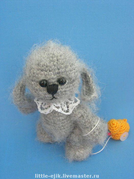 Купить зайчик Васенька - авторская игрушка, вязаные игрушки, игрушки, зайцы…