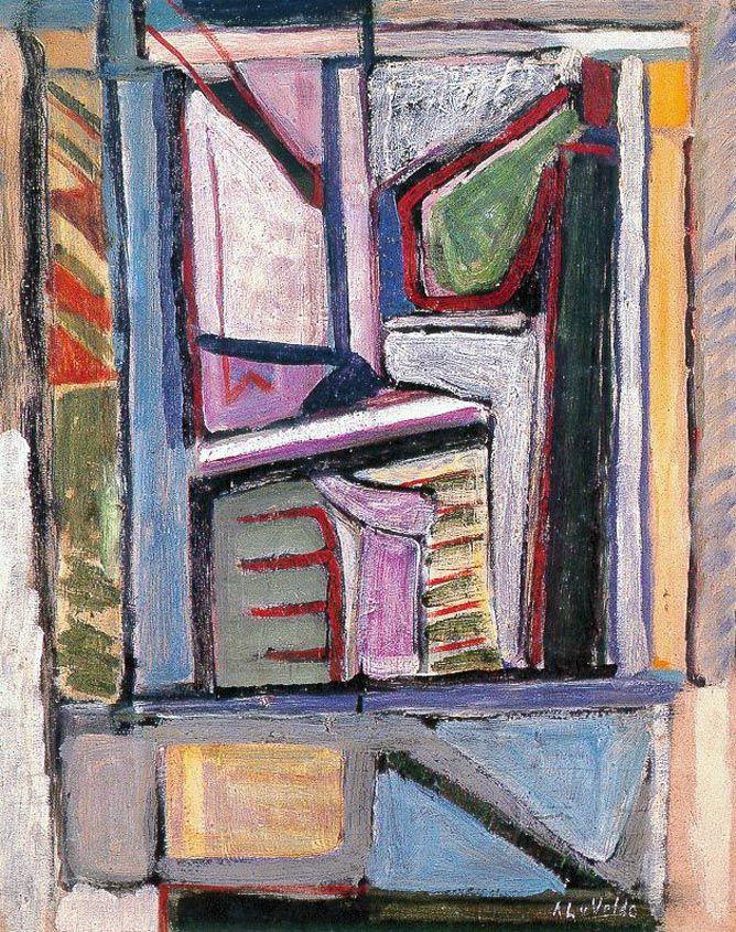 Venster, 1937, 92 x 73 cm, olie op doek, Paris, Musée National d'Art Moderne, Centre Georges Pompidou