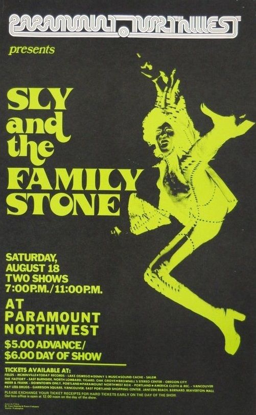 Sly and the Family Stone, an interracially mixed band, played a critical role in the development of soul, funk, rock, and psychedelia in the 1960s and 1970s.