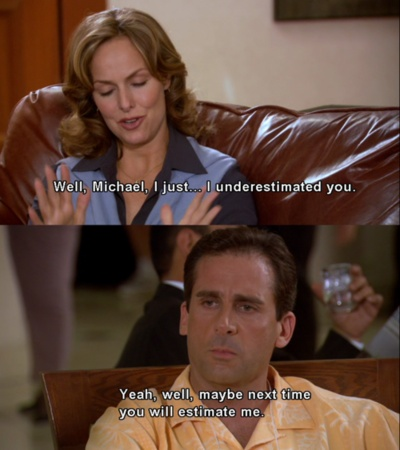 Jan Levinson. Michael Scott. The Office. Best TV comedy sitcom of all time