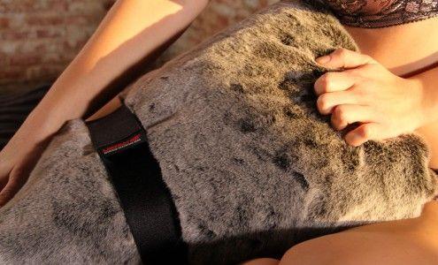 Sex on fur blanket something is