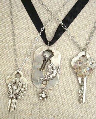 DIY: Repurposed Keys as Vintage Jewelry Tutorial !