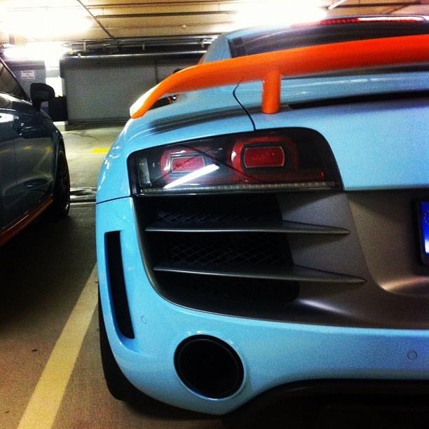 Audi R8 GT gulf colors ... i like!