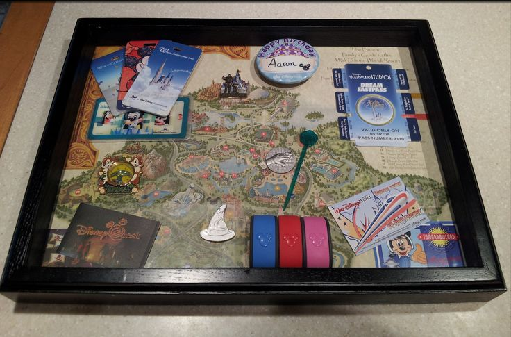 My Walt Disney World Shadow Box