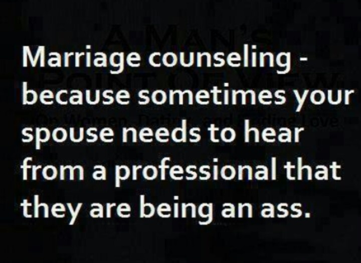 Marriage conseling