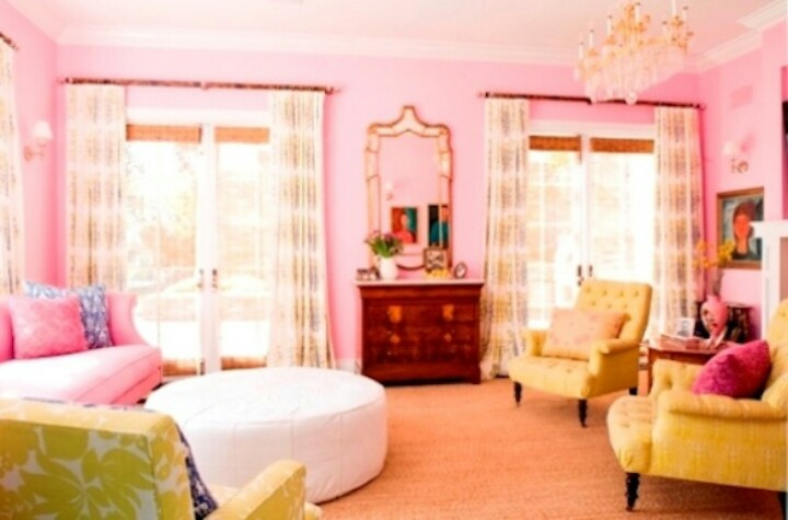 girly living room for the home pinterest