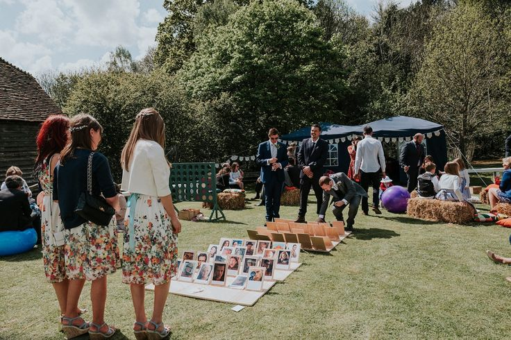 Eliza Jane Howell and Garden Games for a Bluebell Filled Forest Wedding