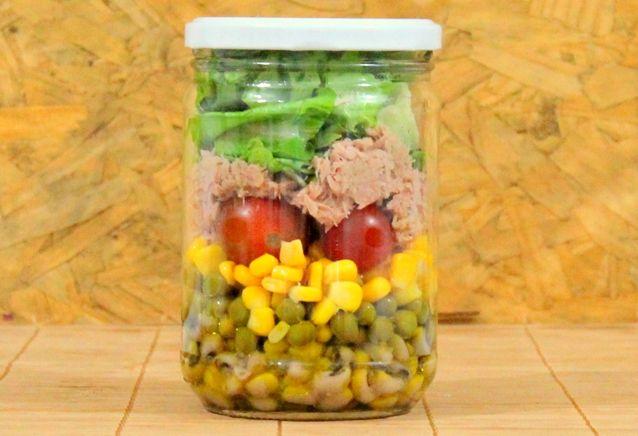 Salada no pote, marmita saudável | Blog do Elo7