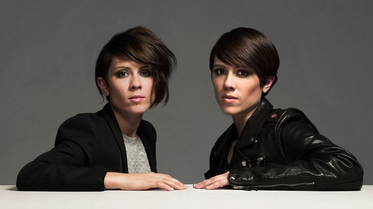Indie pop twin duo Tegan and Sara look into the past, starting with a throwback photo from age 7.