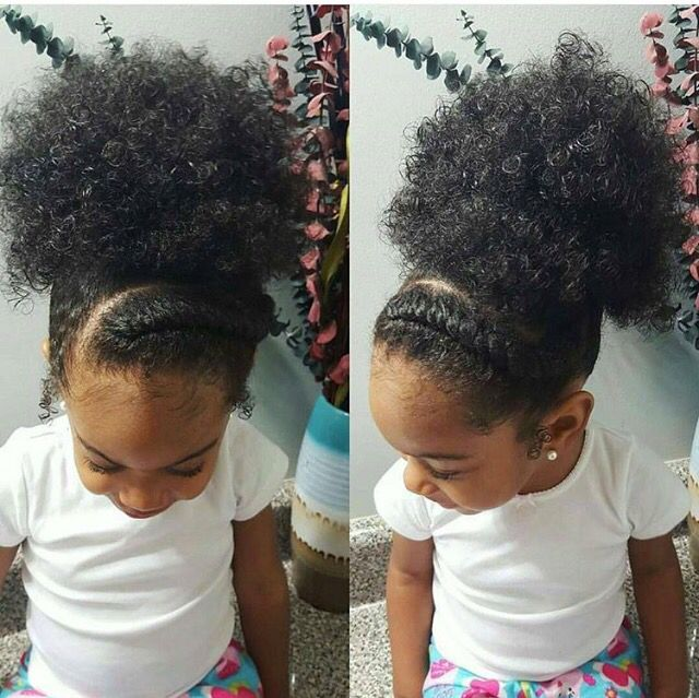 Natural Hairstyles For Little Girls Black Hairstyles Pinte