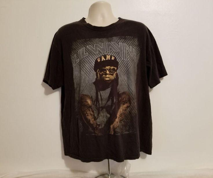 Lil Wayne Fame Adult Black XL T-Shirt #Anvil #GraphicTee