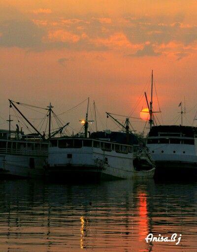 The Lovely sunset