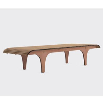 Shigeru Ban Cardboard Bench