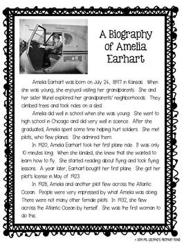 "Biography writing for 2nd graders - with grade-appropriate biography articles that kids can use to do ""research""!"