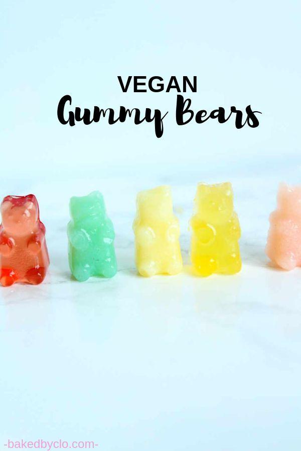 Vegan Gummy Bears Recipe Vegan Gummy Bears Vegan Gummies Gummies Recipe