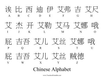 39 best Chinese ABC'S & 123 images on Pinterest