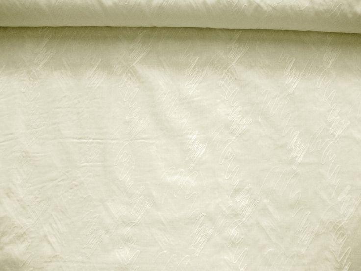 Baumwollstoff bestickt L80605 in creme von en vogue auf DaWanda.com