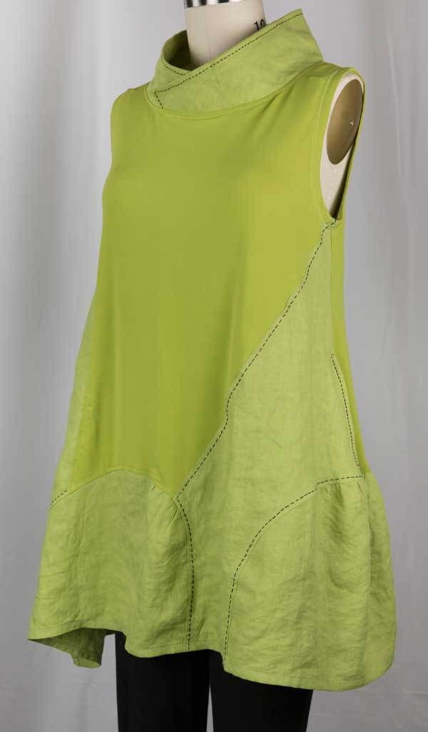 Lime Tunic – Marcy Tilton Vogue 9112... from blog West Zen Studio