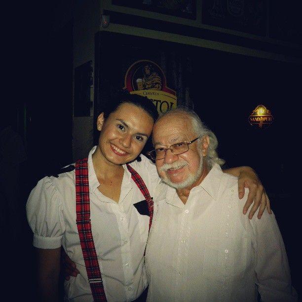 Una de las Visitas de Carlitos Munoz a Saxo Pub !!!
