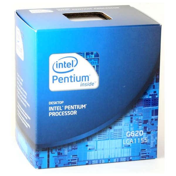 CPU Intel Pentium Dual-Core G620 2.60GHz Socket 1155 65W Sandy Bridge con GPU Boxed BX80623G620