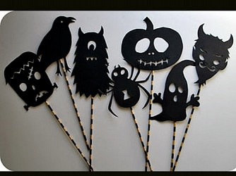 puppets for halloween free printable origami birthday cards crafts holiday decorations