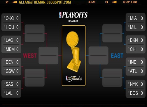 2013 NBA Playoffs Schedules & Live Streaming Online | ALLAN is the MAN