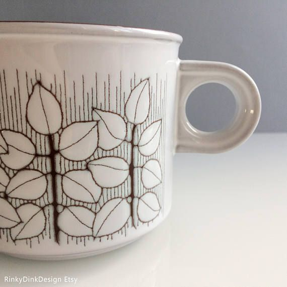 Individual Hornsea Pottery Charisma pattern: teapot tea pot
