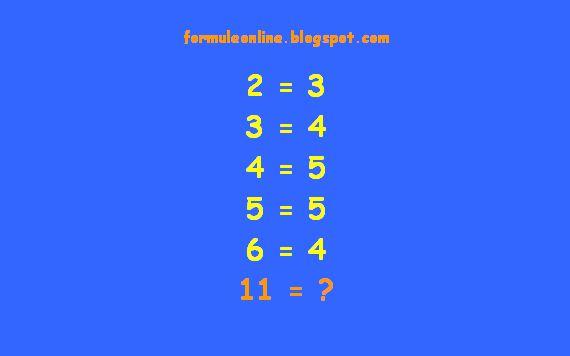formuleonline probleme si exercitii rezolvate: Ghicitoare matematica 55