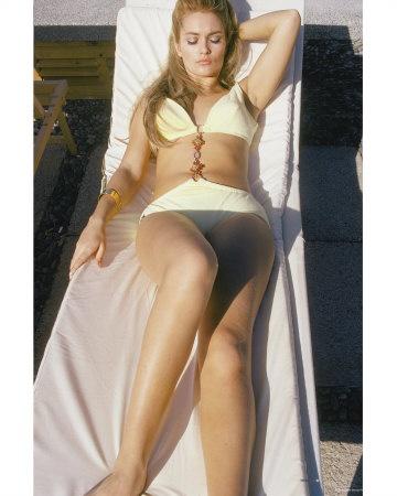 Alexandra Bastedo - Sunning