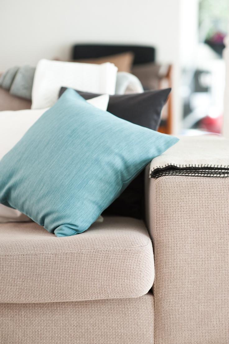 © stylus.pl | #home #inspiration #curtain #decor #pillows