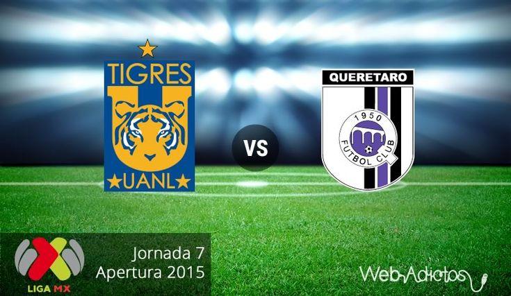Ver Tigres vs Querétaro EN VIVO Online LigaMX Sabado 19