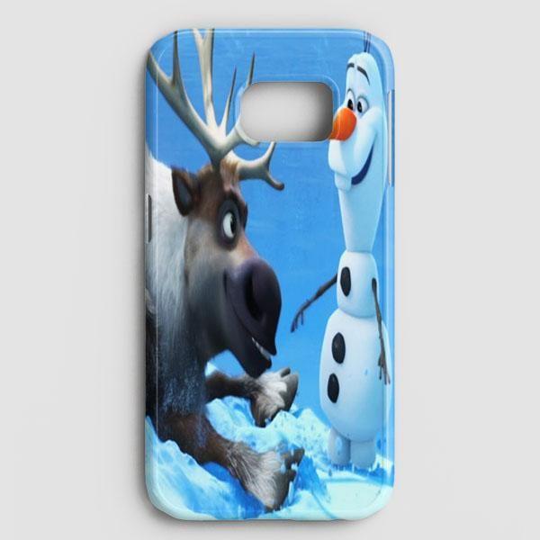 Sven And Olaf Funny Cartoon Samsung Galaxy S8 Plus Case
