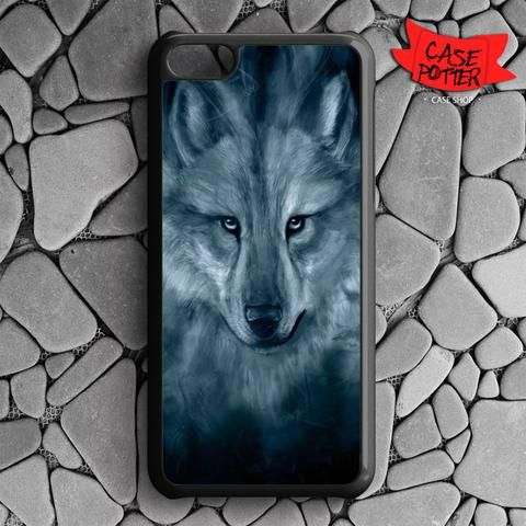 Wolf Painting iPhone 5C Black Case
