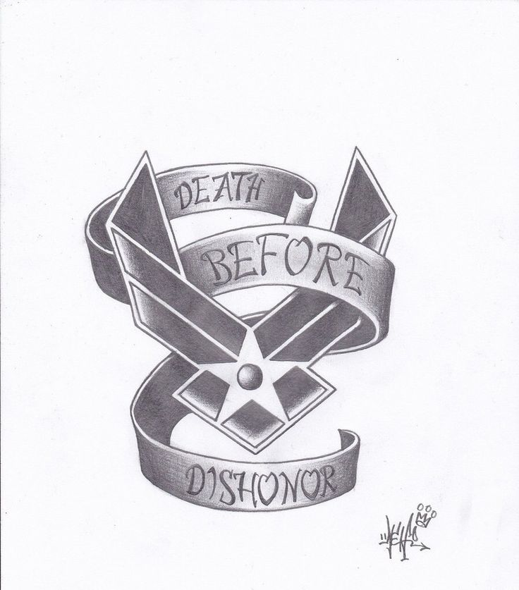 Air Force tattoo