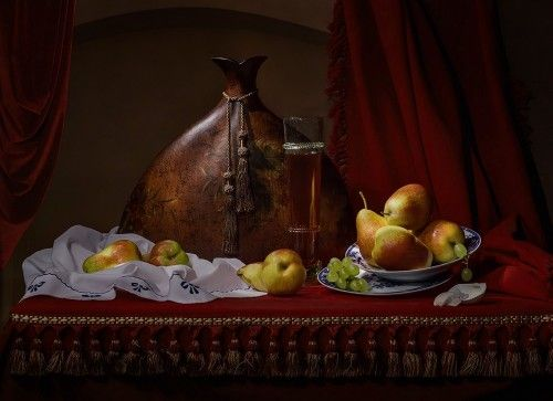 With pears by Svetlana L